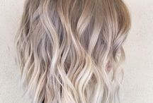 hair ombre blond