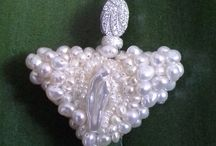 Pearl Necklace / Pearl necklace  Like Virgin Mary  Bluejewellery862@gmail.com
