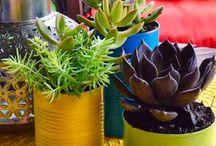 Tin and Popcan Garden Art / by Marlene Mohwinkel
