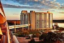 Bay Lake Tower at Disney's Contemporary Resort / Disney's Bay Lake Tower has a distinctively modern design that is balanced by a warm and inviting décor, with the feel of an urban boutique hotel. Choose from a variety of flexible family-friendly vacation villas, many offering fantastic views of Magic Kingdom® Park or beautiful Bay Lake.