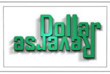 Dollar Reverse Logo Assets / http://www.dollarreverse.com  Custom Assets for Logo and Design