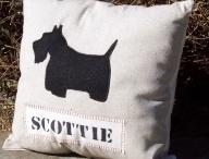 Scottie pillows