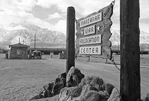 Manzanar Internment Center / Manzanar, CA is most widely known as the site of one of ten camps where over 110,000 Japanese Americans were incarcerated during World War II.