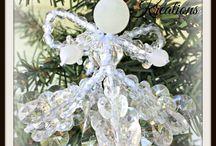 Glistening Beaded Ornaments