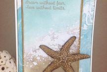 Sea/Beach Themed Cards