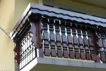 balustrada na ganek