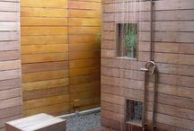 Outdoor shower / by H I