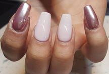 acryl nagels classy