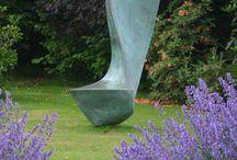 Sculptures / Wonderful sculptures for gardens