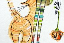 koty do narysowania 8