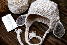 cuffie, cappelli, crochet, kinitting