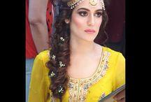Mehndi dress mood board / Photoshoot 2nd