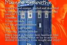 Doctor Who - 50th Anniversary / Celebrating the 50th Anniversary of Doctor Who with healthy recipes!  / by Dr. Apovian