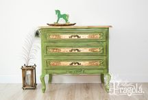 My Furniture / Hand painted, upcycled furniture.