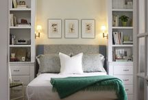 Guest bedroom / Decorate a small bedroom to make it cozy