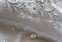 Vintage Lace, Linen, (2) / Linen and Lace, also Monograms, Textiles... / by Maria Hurcomb