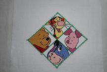 Moje hafty dla dzieci / Hafty wykonane na poduszki CELINKI
