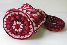 Crochet bags, totes, purses, etc / by Gail