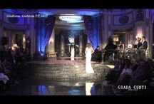 """""""GIADA CURTI"""" S.S.2012 """"Midnight in Rome"""" Collection ALTA ROMA HAUTE COUTURE / """"GIADA CURTI"""" S.S.2012 """"Midnight in Rome"""" Collection ALTA ROMA HAUTE COUTURE"""