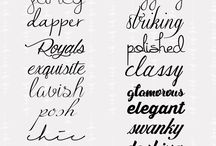 FONTS 4 SEVERAL DIY IDEAS