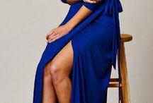 crossed dress maxi