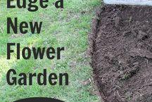 border for flower beds