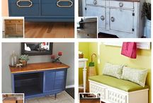 Furniture upcycling  / by Cassie Butcher