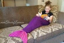 quick and easy mermaid blanklet pattern