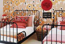 Girls room ideas / by Marnie Roche