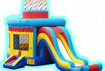 Birthday Themed Inflatable Bouncers / Great bouncy castles for birthday parties!
