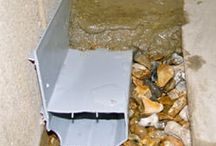 French Drain Products / Different problems call for different tools to fix them. In the same way that we wouldn't use a hammer to drive in a screw, we do not use the same drain system for every basement waterproofing job we complete.  Each of our drainage systems are designed to address a different, unique challenge that you may be facing. Some of these challenges involve the way your home has been designed, while others address unusual basement water issues, such as iron ochre.