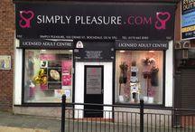 Simply Pleasure Rochdale / 102 Drake Street, Rochdale, OL16 1PQ 01706 658 585 Rochdale@Simplypleasure.com