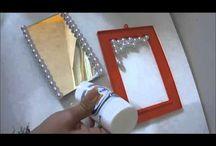 bandeja espelhada
