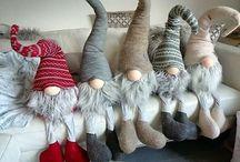 Bonecos (Elfos) de Natal