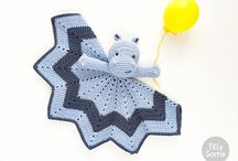 Lovey Crochet baby blanket