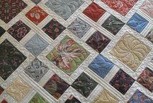patchwork / patchwork muster und Techniken