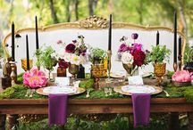 Outdoor Wedding Ideas / Use Nature's whimsical beauty as a backdrop for your big day.