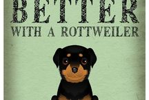 Rottweilers / Dukey man