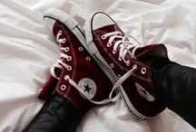 Converse & Vans sneakers / Cool converse allstars and vans sneakers, painted manually and much more