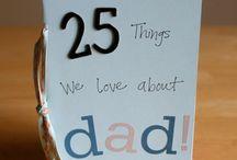 Fathers Day/ Dad's Birthday Ideas