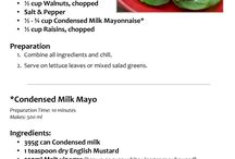 Recipes / Food
