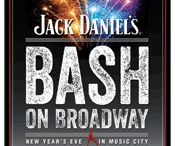 New Year's Eve in Nashville / Jack Daniel's Bash on Broadway: New Year's Eve in Music City has grown into one of the best New Year's Eve parties in the world. It's a free party where you can ring in the new year with amazing music and thousands of your closest friends. More people, more music, and more fun every year. We expect nothing less for the 2014 party. Join us! / by Nashville Music City