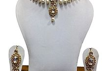Kundan Wedding Polki Bollywood Jewelry Necklace Wedding