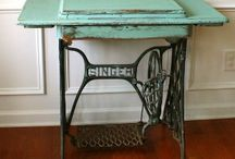 Sewing Cabinets recycled/upcycled/repurposed / by Christina Budd