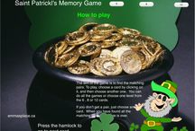 Saint Patrick's Day Ideas / free templates, songs, games and activities.