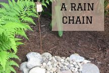 When  It Rains It Pours / Rain chains, rain barrels, gutters, down spouts
