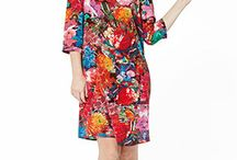 Flamboyant florals! / Floral prints, flower power, joy, pink rainbow colors and a lot of happiness!