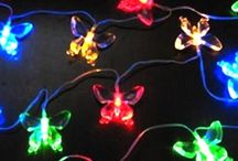 String lights and LED / Decorate your home like dream land with the help of Aleko string lights and LED solar powered lights.