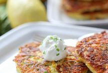 fritters and pancakes