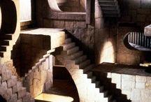 계단 미로 3점투시 포폴